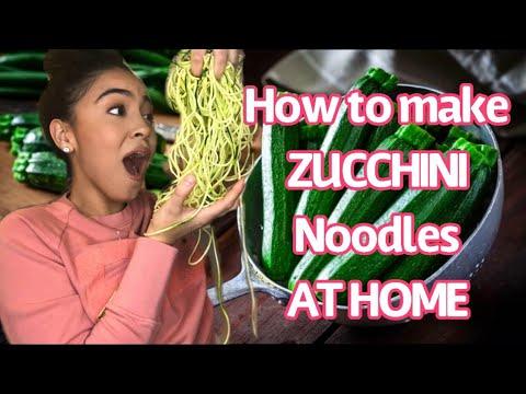 how-to-make-zucchini-noodles-|-zucchini-spaghetti-in-5-minutes-easy!