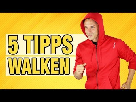Die 5 besten Tipps zum WALKEN | Daniel Lukoschek |7WochenChallenge