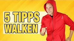 Die 5 besten Tipps zum WALKEN   Daniel Lukoschek  7WochenChallenge
