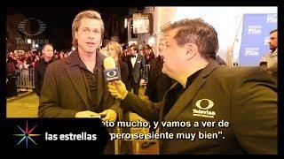 Brad Pitt fue homenajeado por más de 30 años de carrera | Las Estrellas