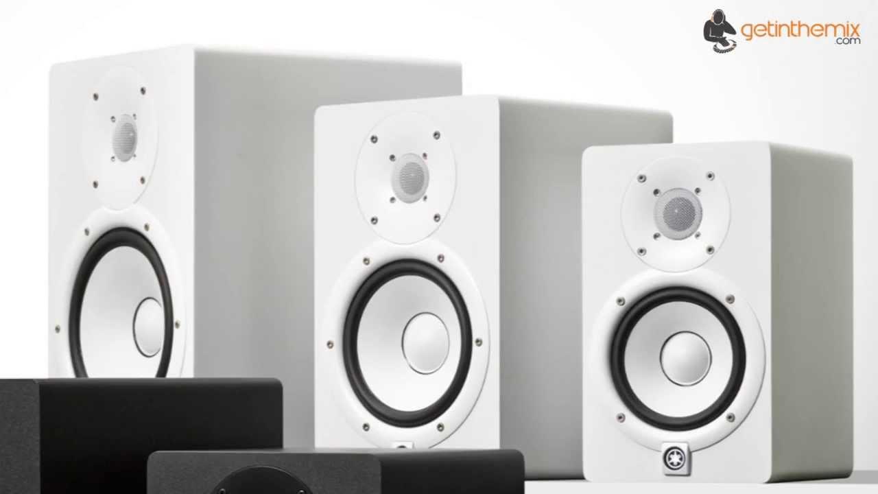 Yamaha Hs5 Nearfield Monitors White Youtube Powered Studio Monitor