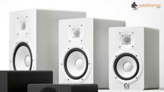 Yamaha HS5 Nearfield Monitors - White