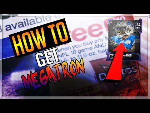 HOW TO GET CALVIN JOHNSON IN MUT 18!!!! CALVIN JOHNSON REVEALED!!!!