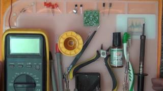 #D-001 Основы электроники. DIY KIT (КИТ). Cветомузыка своими руками