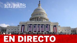 DIRECTO | BIDEN: INVESTIDURA del PRESIDENTE de EEUU