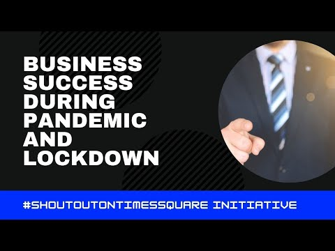 BUSINESS MOTIVATION - SHOUT OUT ON TIMES SQUARE BY PUREVPN | CODE INSPIRATION
