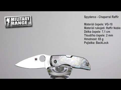 Nůž zavírací CHAPARRAL ™ RAFFIR NOBLE - Spyderco | Army shop