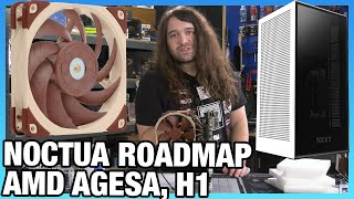 HW News - AMD AGESA Pushes Infinity Clocks, Noctua 2021 Roadmap, NZXT H1 Returns