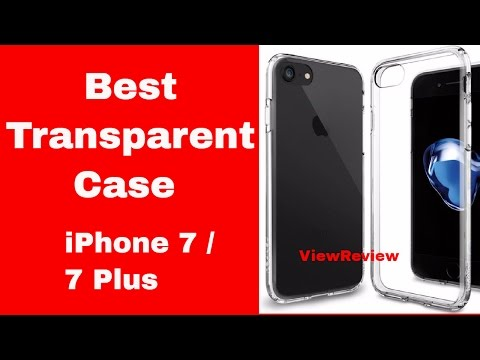 The Best Transparent Case for iPhone 7 Plus
