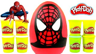 Video Toys Bro Opening Play Dough GIANT Suprise Egg Spiderman, Superman and Marvel Figures download MP3, 3GP, MP4, WEBM, AVI, FLV November 2017