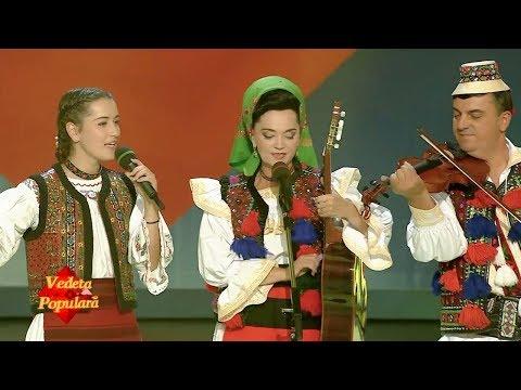 Carmen Şteţco alături de Florentina şi Petre Giurgi - Cetera-i inima me' (#VedetaPopulară)