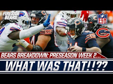 BEARS BREAKDOWN: PRESEASON WEEK 2