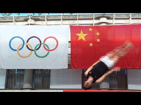 China trampoline star eyes last jump in Tokyo