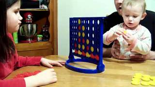 2 Year Old Wins Connect 4! thumbnail