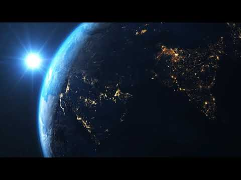1080p News globe 3d animation background Video Footage Free HD