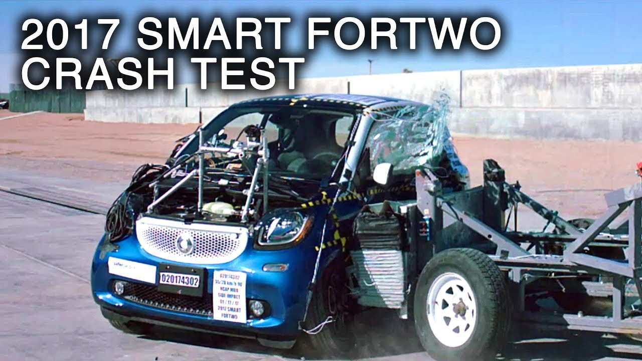 2017 Smart Fortwo Side Crash Test