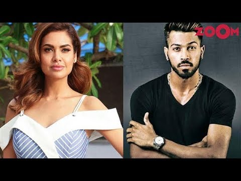 Esha Gupta REACTS on Hardik Pandya's Koffee with Karan controversy