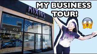 My Business Tour | Rolled Ice Cream Shop