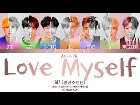Free Download Bts (방탄소년단) - 'answer : Love Myself'   Color Coded Lyrics [han rom eng] Mp3 dan Mp4