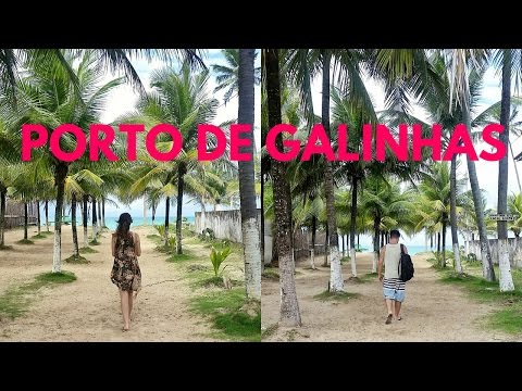 PLACES TO TRAVEL IN BRAZIL: Porto de Galinhas Travel Vlog