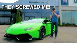 Lamborghini Maintenance COSTS HOW MUCH?! thumbnail