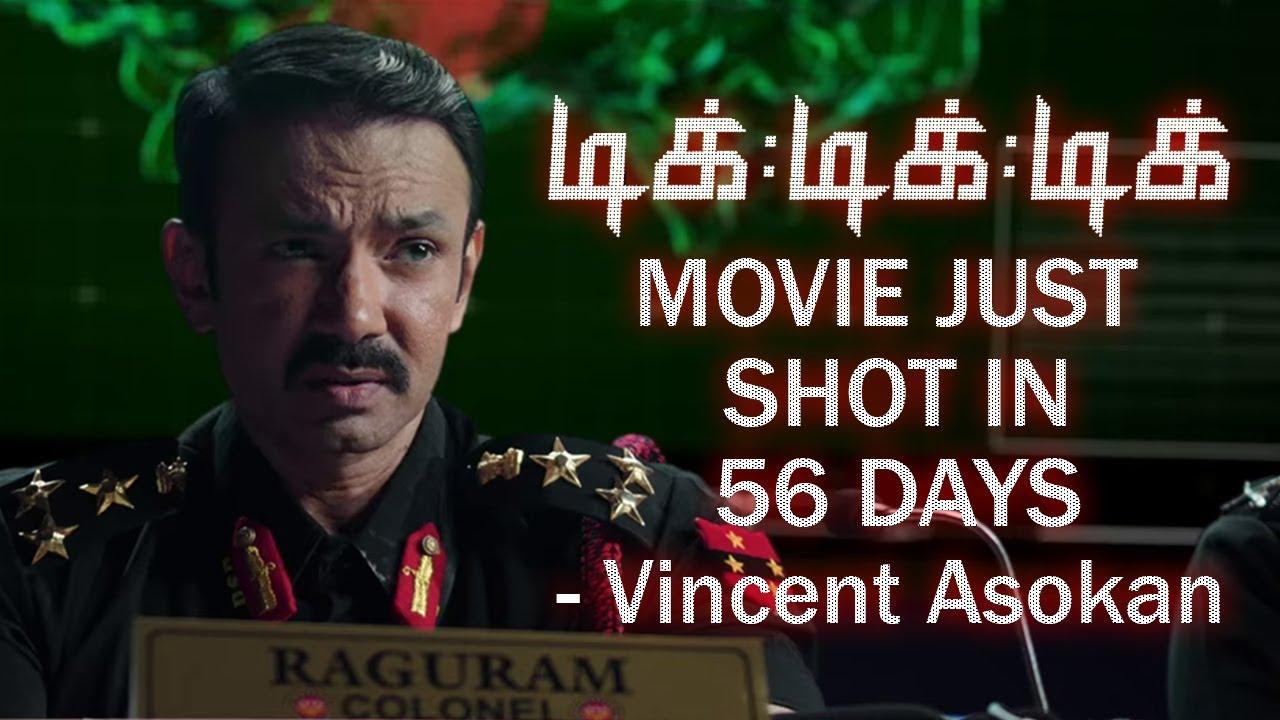 Tik Tik Tik Movie Shot in Just 56 Days - Actor Vincent Asokan   Interview Part 01   Reel Petti