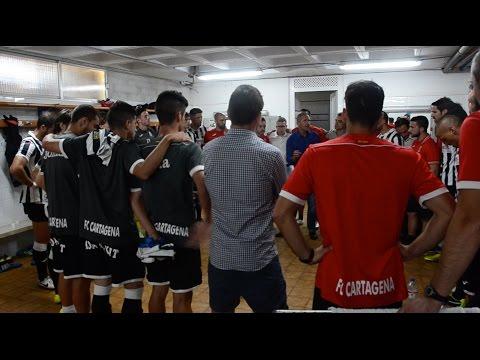 Así es un día de partido en el FC Cartagena