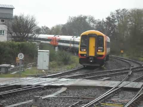 Rare South West Trains Class 158 S And A 159 Leaving Exeter St