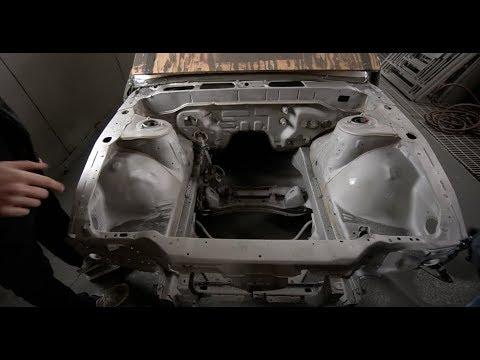 SAND BLASTING A CAR!!(s13 silvia)