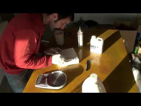 Expoxy resin vs PVA glue - Test on polystyrene
