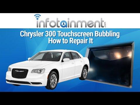 Chrysler 300 Touchscreen Bubbling – How to Repair It – Infotainment.com