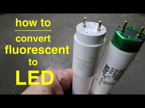 How To ● Convert T8 Fluorescent Lights to LED ● Explained in Simple Terms from YouTube · Duration:  5 minutes 19 seconds