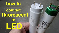 How To ● Convert T8 Fluorescent Lights to LED ● Explained in Simple Terms