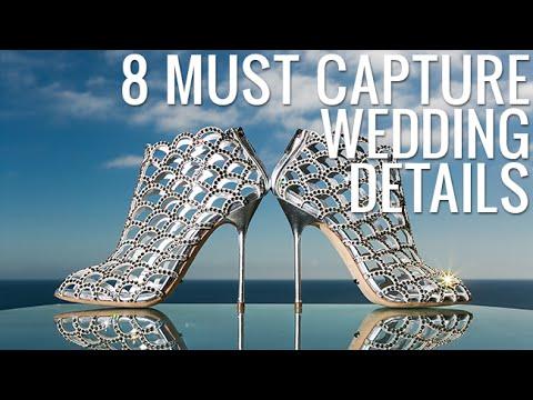 8 Must Capture Wedding Details