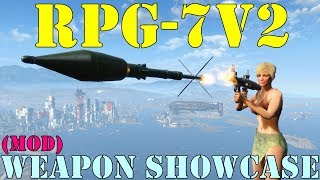 Fallout 4: Weapon Showcases: RPG-7V2 (Mod)