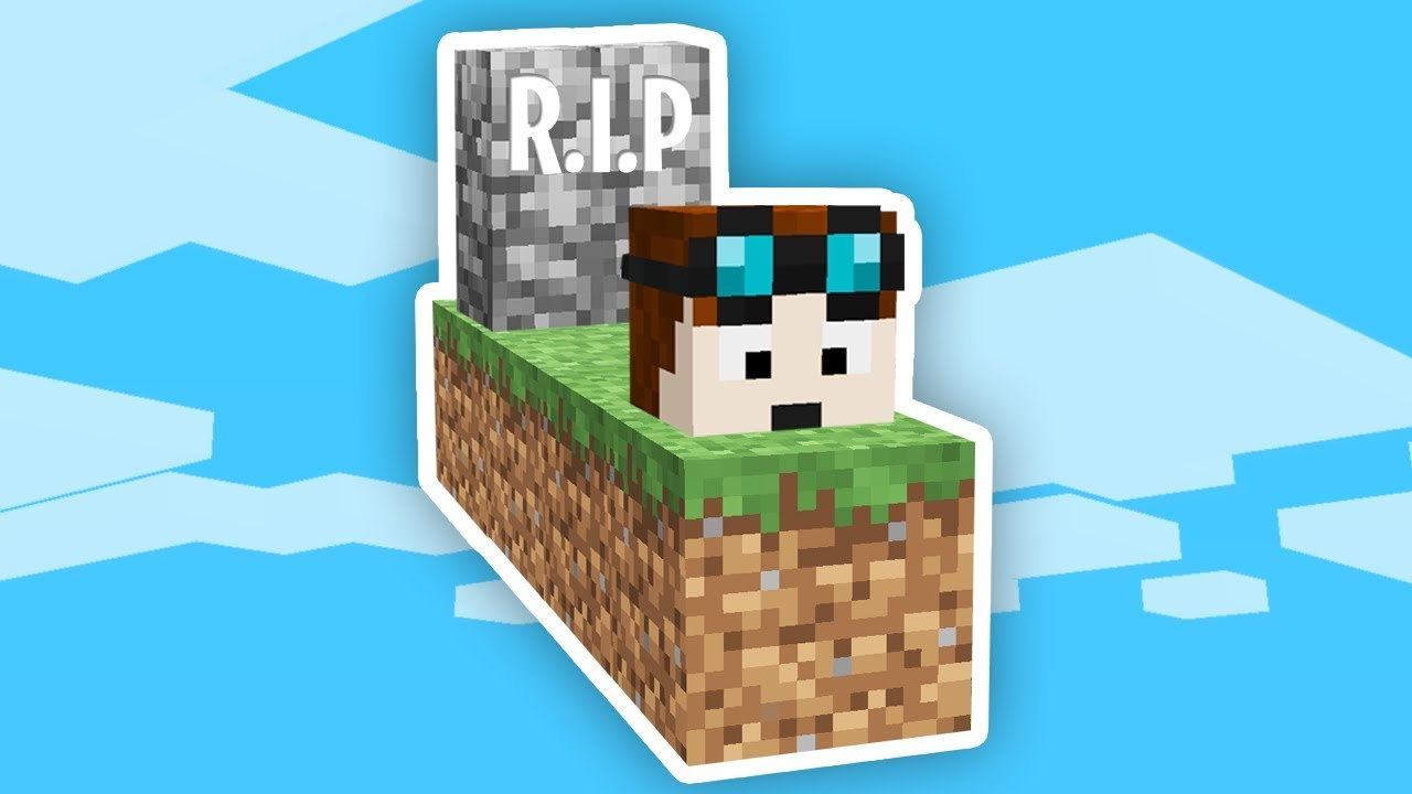 I Died In Minecraft Skyblock Already Safe Videos For Kids