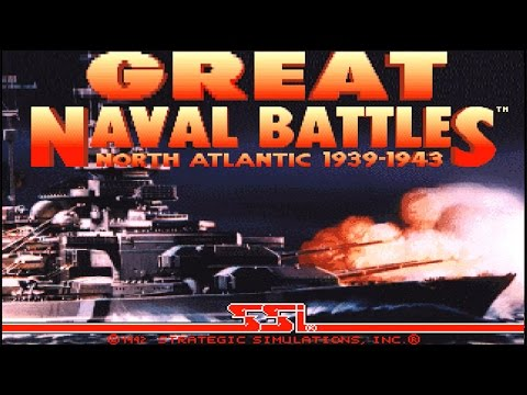 Great Naval Battles I: North Atlantic 1939-1943 (PC/DOS) 1992, SSI