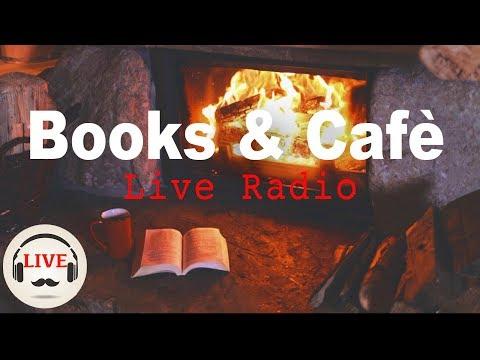 Cozy Jazz & Bossa Nova Music With Fireplace - 24/7 Live Stream - Relaxing Cafe Music