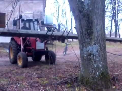 Кун на трактор мтз 80 самодельный