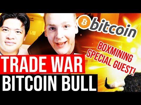 BITCOIN ATH 2019? 🤞 Boxmining Interview - China Trade War, Recession, Crypto