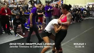 GIRLS GRAPPLING: Jennifer Timmons vs Catherine Marino: REMASTERED Classic•  Women's Division