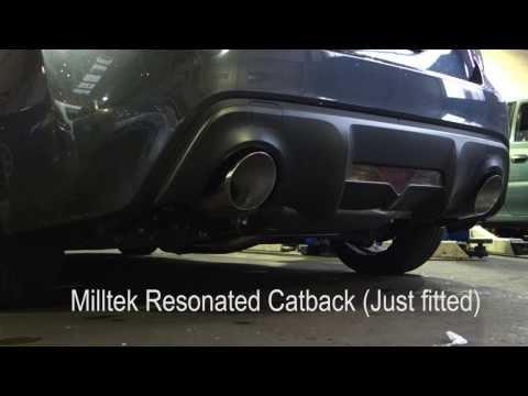 英國 Milltek 牛奶管 中尾段 賽道 七彩鈦色 次要 排氣管 Toyota 豐田 GT86 2.0 Litre 12+ 專用