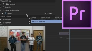 Episode 21 - Speed Duration & Time Remapping - Tutorial for Adobe Premiere Pro CC 2015