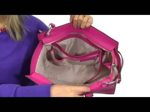 fe2e3017b788 MICHAEL Michael Kors Selma Large TZ Satchel SKU  8126521 - YouTube