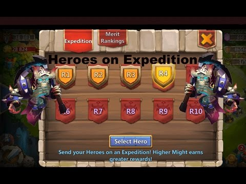 Castle Clash Raiding In Arena Expedition