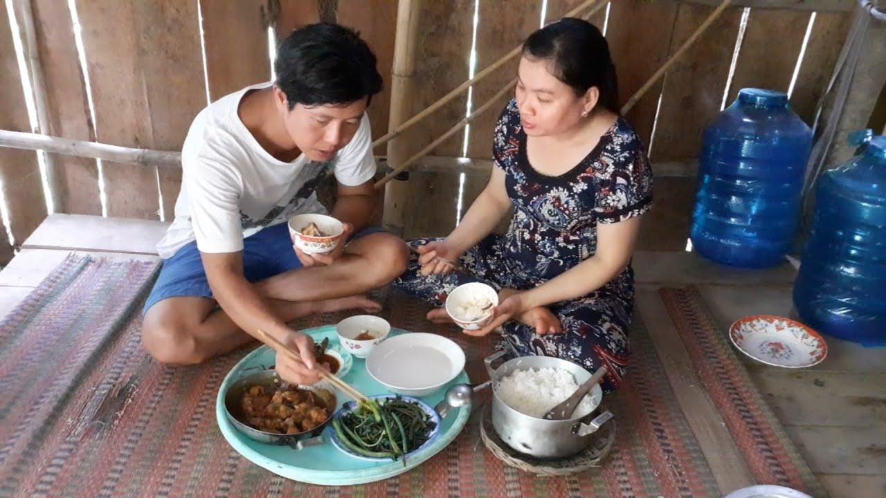 Rau Tập Tàng Chấm Nước Cá Kho Bữa Cơm Mùa Mưa Bão| TKQ T311
