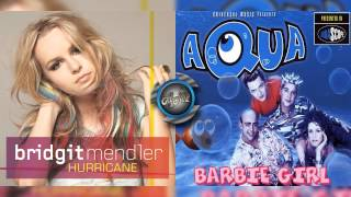 Bridgit Mendler Vs Aqua - Hurricane (Mashup)