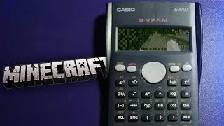 COMO JUGAR MINECRAFT EN UNA CALCULADORA CASIO (VIDEO CRITICA)