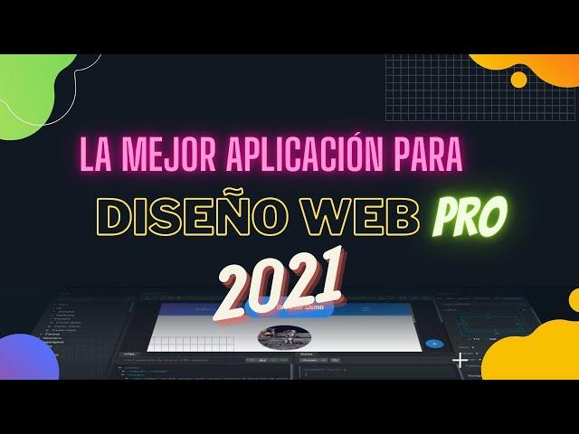Recomiendo Bootstrap Studio para diseñar web profesionales 2021