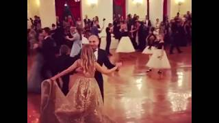 Дочь Навки танцует с отцом
